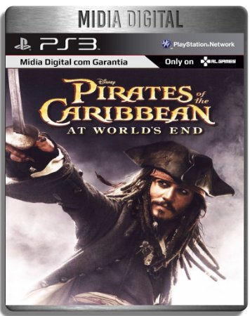 Pirates of the caribbean at the world's end - Ps3 Psn - Mídia Digital