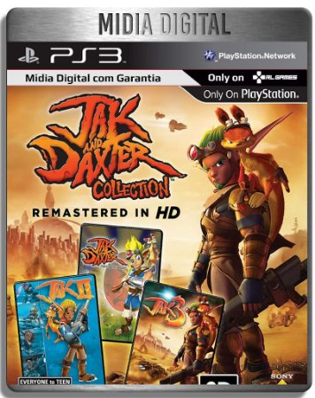 Jak and Daxter Collection HD - Ps3 Psn - Mídia Digital