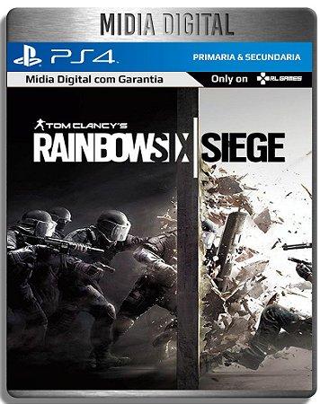 Tom Clancy's Rainbow Six Siege - PS4 Psn - Mídia Digital Primaria