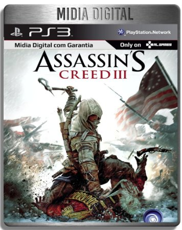 Assassins Creed 3 III - Ps3 Psn - Mídia Digital