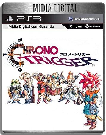 Chrono Trigger Classico PS1 - Ps3 Psn - Mídia Digital