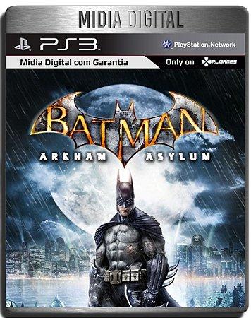 Batman Arkham Asylum - Ps3 Psn - Mídia Digital