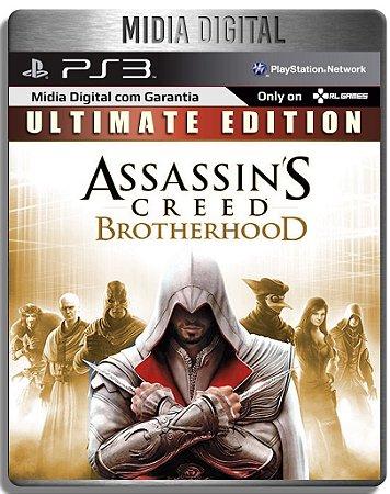 Assassins Creed Brotherhood Ultimate Edition + DLCS - Ps3 Psn - Mídia Digital