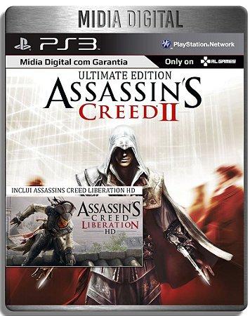Assassins Creed 2 Ultimate + Assassins Creed Liberation - Ps3 Psn - Mídia Digital