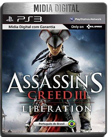 Assassins Creed Liberation HD - Ps3 Psn - Mídia Digital