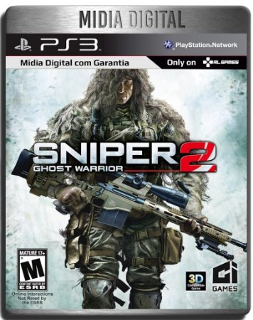 Sniper Ghost Warrior 2  - Ps3 Psn - Mídia Digital