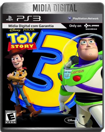 Toy Story 3 - Ps2 Classic - Ps3 Psn - Mídia Digital