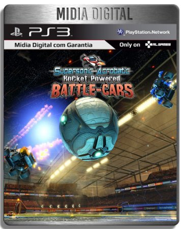 Supersonic Acrobatic Rocket-powered Battle-cars - Ps3 Psn - Mídia Digital