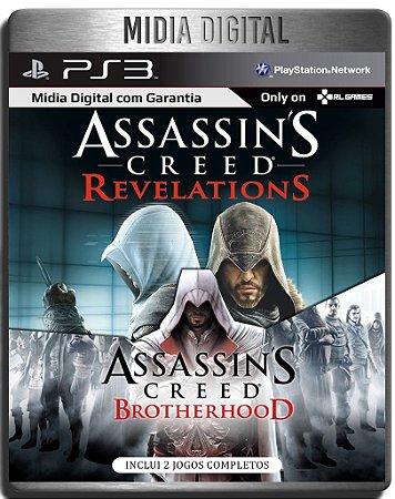 Assassins Creed Brotherhood & Revelations - Ps3 Psn - Mídia Digital