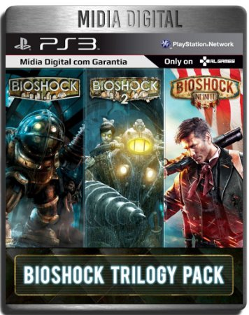 Bioshock Trilogy 1 2 & Infinite - Ps3 Psn - Mídia Digital