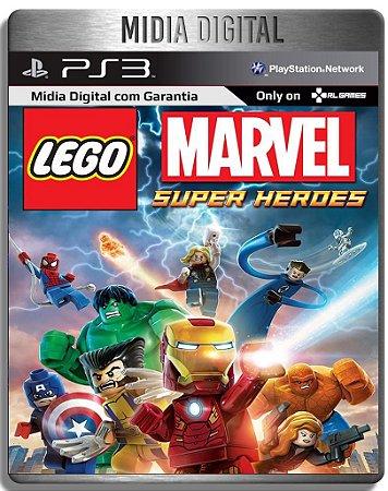 Lego Marvel Super Heroes - Ps3 Psn - Mídia Digital
