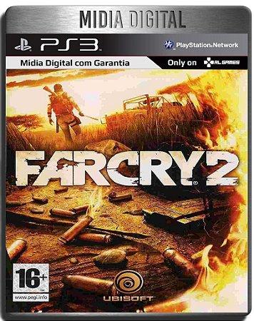Far Cry 2 - Ps3 Psn - Mídia Digital