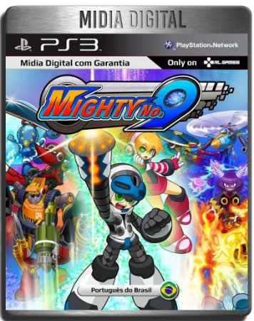 Mighty No. 9 - Ps3 Psn - Mídia Digital