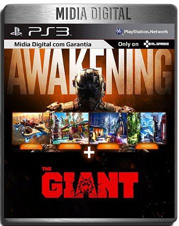 Dlcs Awakening + The Giant Call of Duty BO3 - Ps3 Psn - Mídia Digital  ( Jogo não Incluso )