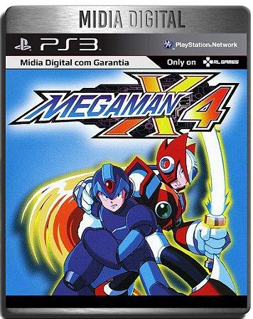 Mega Man X4 (PSOne Classic) - Ps3 Psn - Mídia Digital
