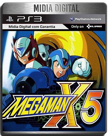 Mega Man X5 (PSOne Classic) - Ps3 Psn - Mídia Digital