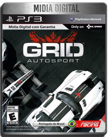 Grid Autosport - Ps3 Psn - Mídia Digital