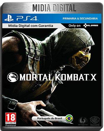 Mortal Kombat X - Ps4 Psn - Mídia Digital Primária