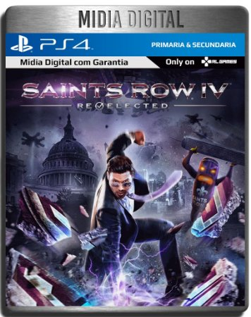 Saints Row IV Re-Elected - Ps4 Psn - Mídia Digital Primária