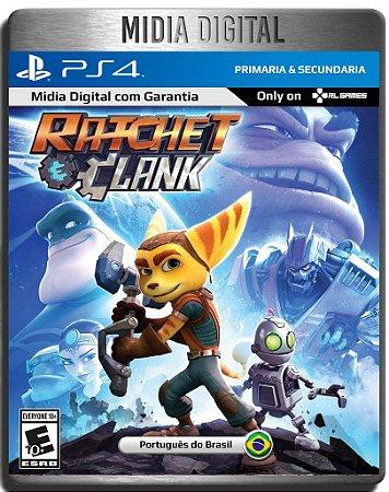 Ratchet e Clank  Ps4 Psn - Mídia Digital Primária