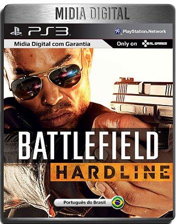 Battlefield BF Hardline Dublado - Ps3 Psn - Mídia Digital