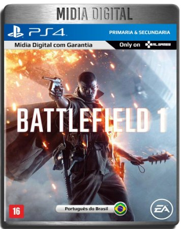 Battlefield 1 Bf1 - Ps4 Psn - Mídia Digital Primária