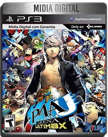 Persona 4 Arena Ultimax - Ps3 Psn - Mídia Digital