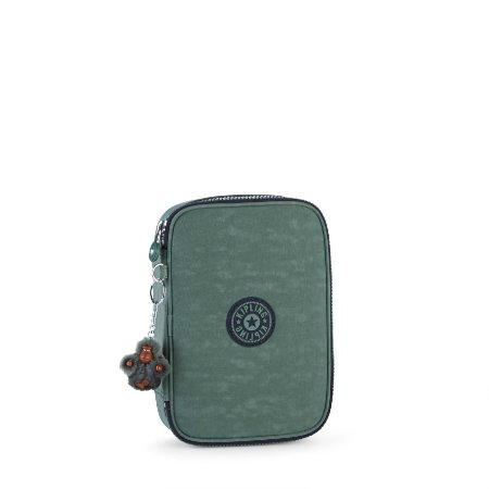 Estojo Kipling 100 Pens - Dark Green C
