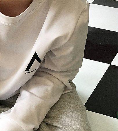 Blusa Térmica Infanto/Juvenil Branca-Avenues