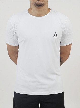 Camiseta Manga Curta Branca Adulta-Avenues