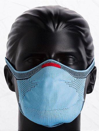 Máscara Knit Azul Claro Infantil