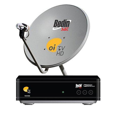 Kit Completo Oi TV HD Livre Bedin Sat