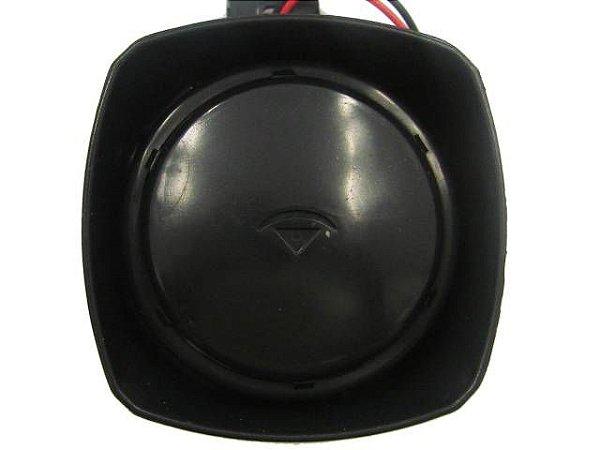 Sirene 12V 2 Tons Piezo 120 dB SP-003-1branca MS Para Alarme