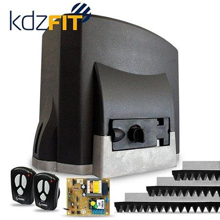 """Garen  Kit Portão Eletrônico Deslizante Kdz Fit 1/4 110v  """"Instalação não inclusa"""""""