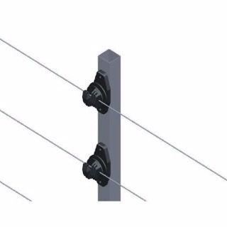 Haste Industrial Cerca Elétrica 6 Isoladores 1.20m