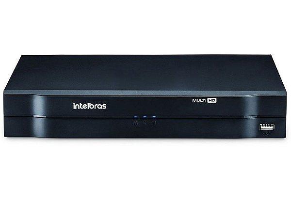 Gravador de video Stand Alone DVR Intelbras Multi HD 4 canais - MHDX 1004 - HDCVI - HDTVI - AHD - ANALOGICA - IP