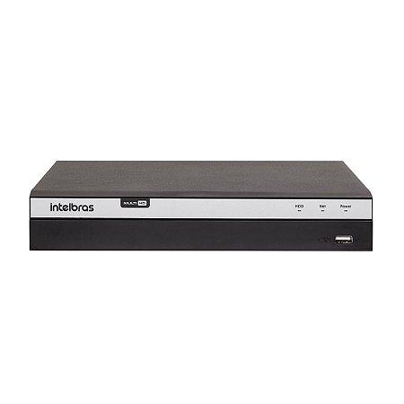 Gravador digital de vídeo Intelbras MHDX 3108 Full HD 08 canais com HD 3TB