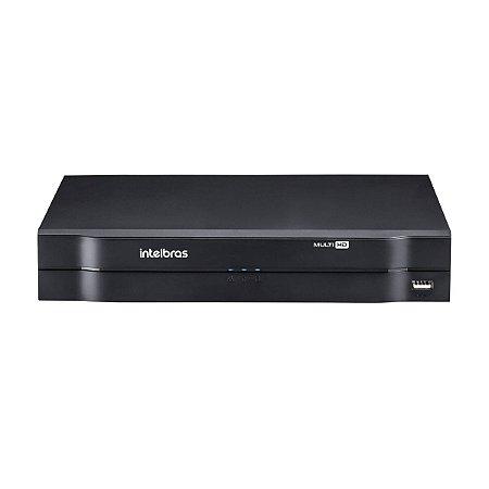 Gravador digital de vídeo Intelbras 1104 MHDX 04 canais com HD 1TB