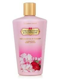 Body Lotion Strawsberry  and Champagne Victoria´s Secret