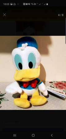 Pelucia Disney Collection Pato Donalds