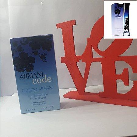 Perfume feminino Armani Code 100ml