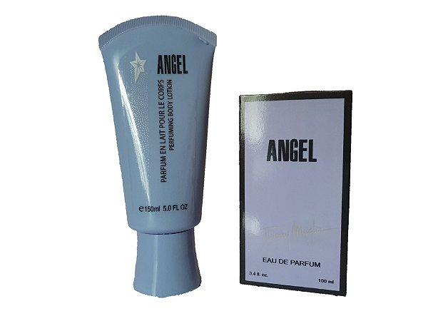 Kit creme+perfume Angel