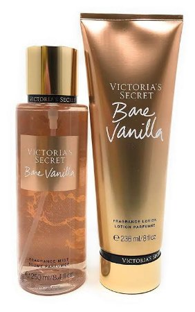 Kit creme 236ml e body Splash 250ml bisnaga  Victoria's Secret