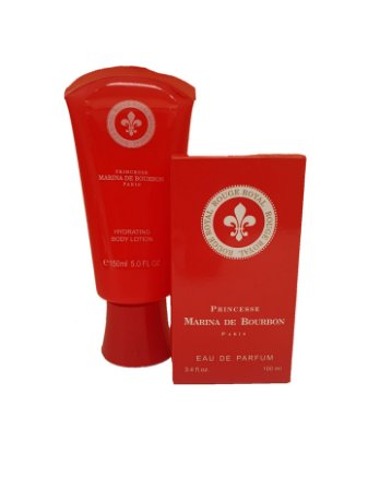 Kit creme + perfume similar princesa Marina de Bourbon Rouge Royal