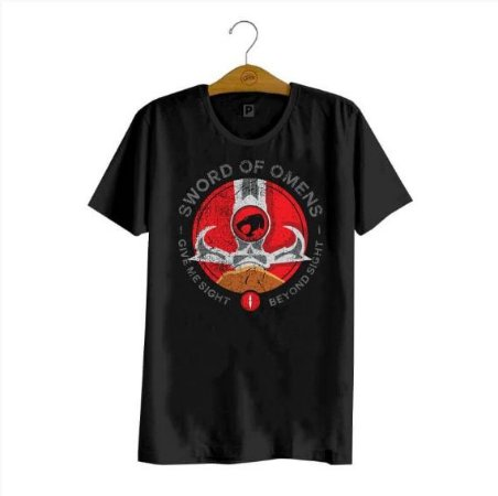 Camiseta Thundercats Olho de Thundera