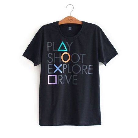 Camiseta Playstation Oficial