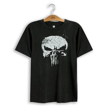 Camiseta Marvel Justiceiro Skull
