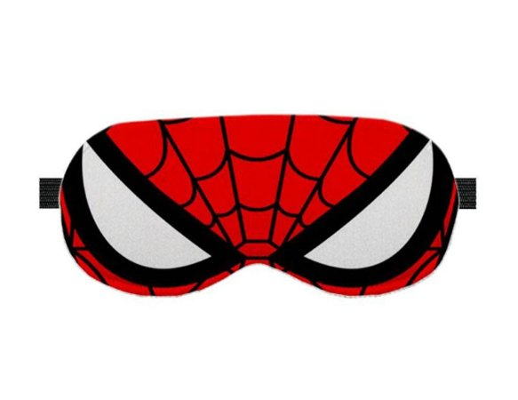 máscara de dormir Marvel Spiderman