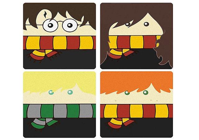 Imãs Harry Potter jogo com 4
