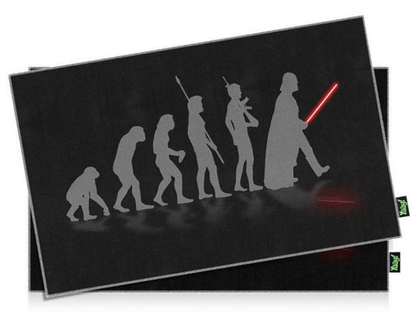 Jogo americano Evolution Darth vader